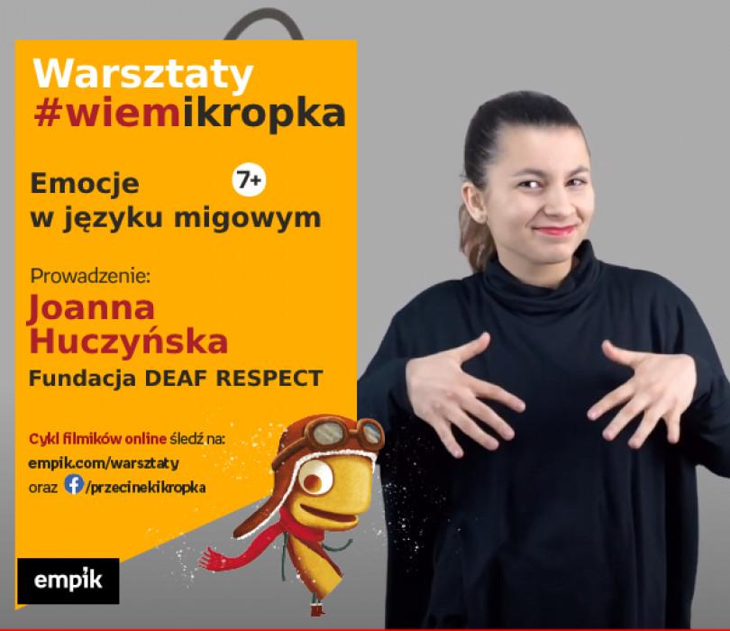 Emocje w języku migowym