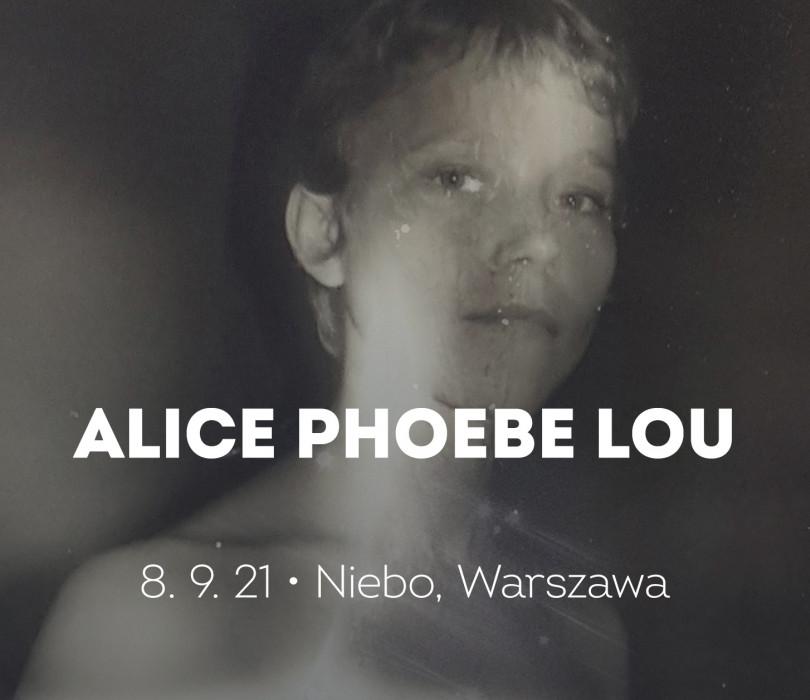 Alice Phoebe Lou [ZMIANA DATY]