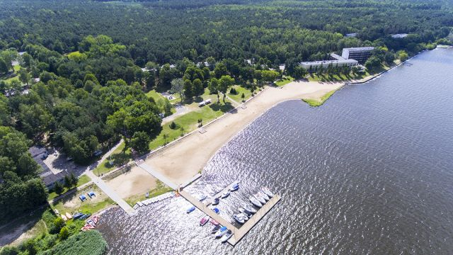 Jezioro Zegrzyńskie, Ośrodek AMW Rewita Rynia
