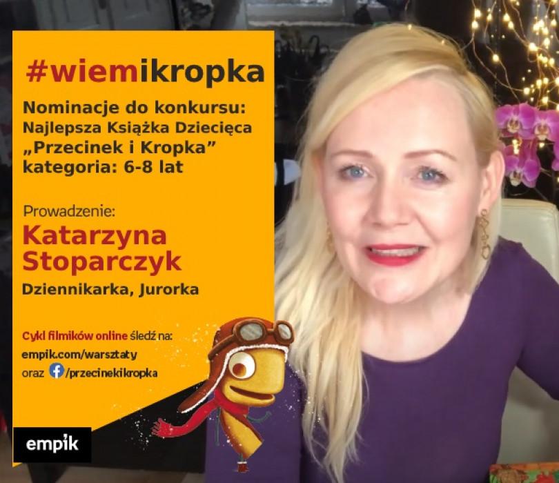 """Nominacje do konkursu: Najlepsza Książka Dziecięca """"Przecinek i Kropka"""", kategoria: 6-8 lat"""