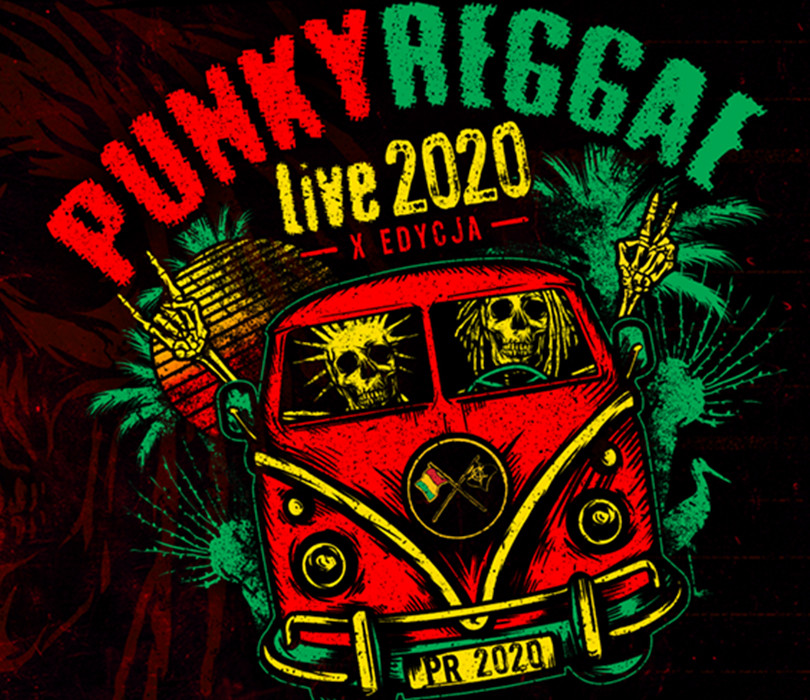 PUNKY REGGAE live 2021: FARBEN LEHRE + DR MISIO + the ANALOGS + support