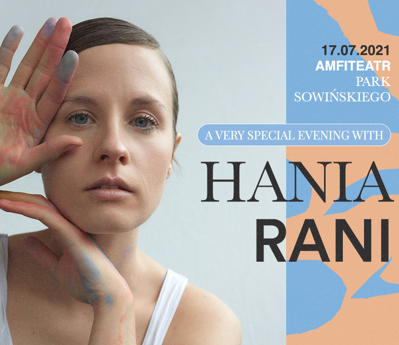 A very special evening with HANIA RANI