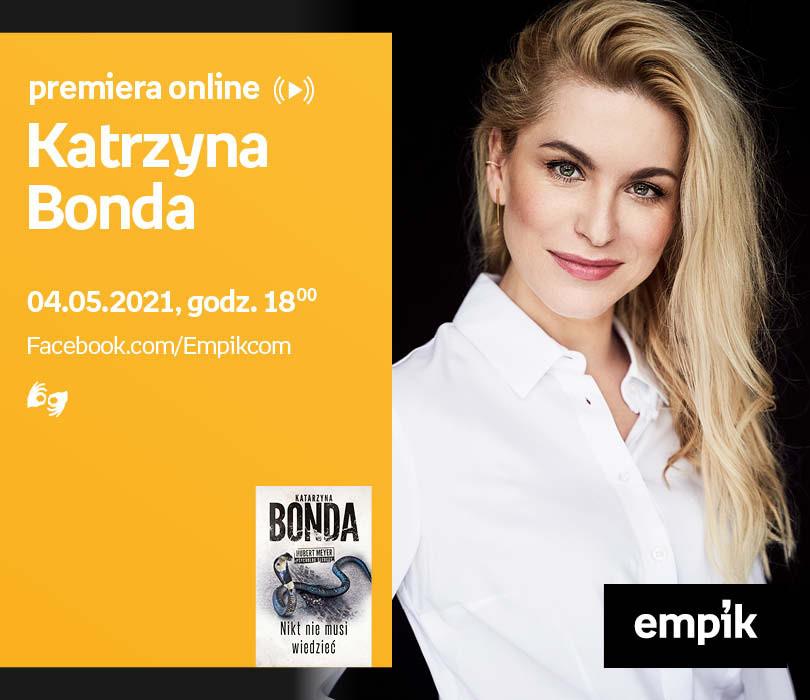 Katrzyna Bonda – PREMIERA ONLINE