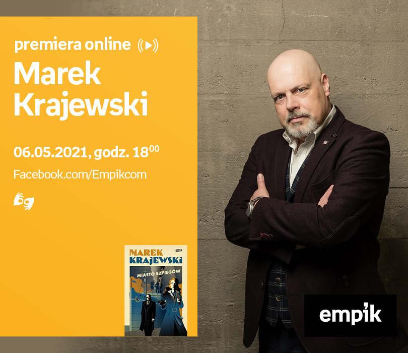Marek Krajewski – PREMIERA ONLINE