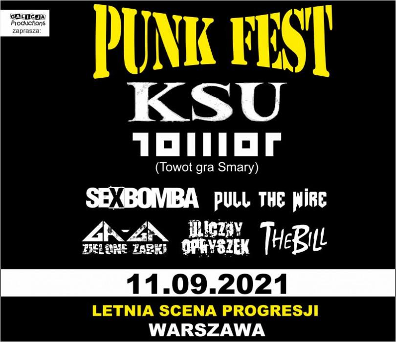 PUNK FEST 2021 Warszawa