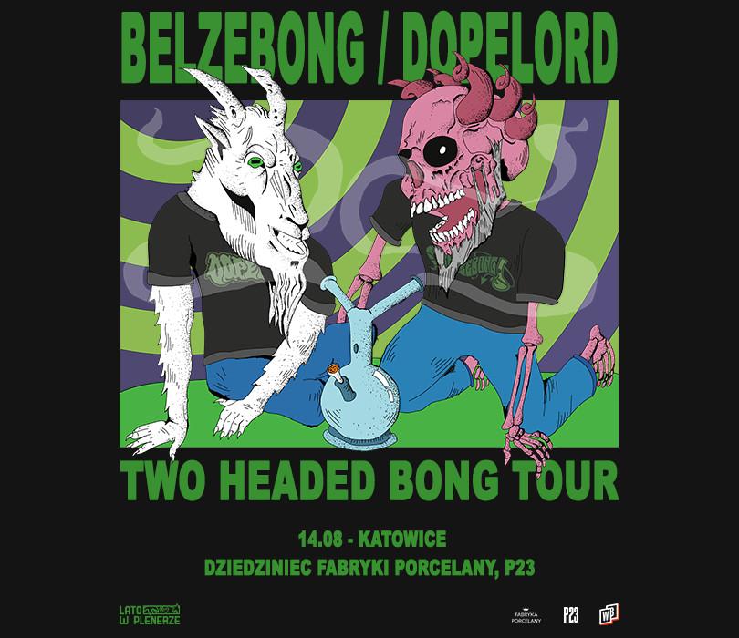 """Lato w Plenerze: Belzebong / Dopelord """"Two Headed Bong Tour""""   Katowice"""