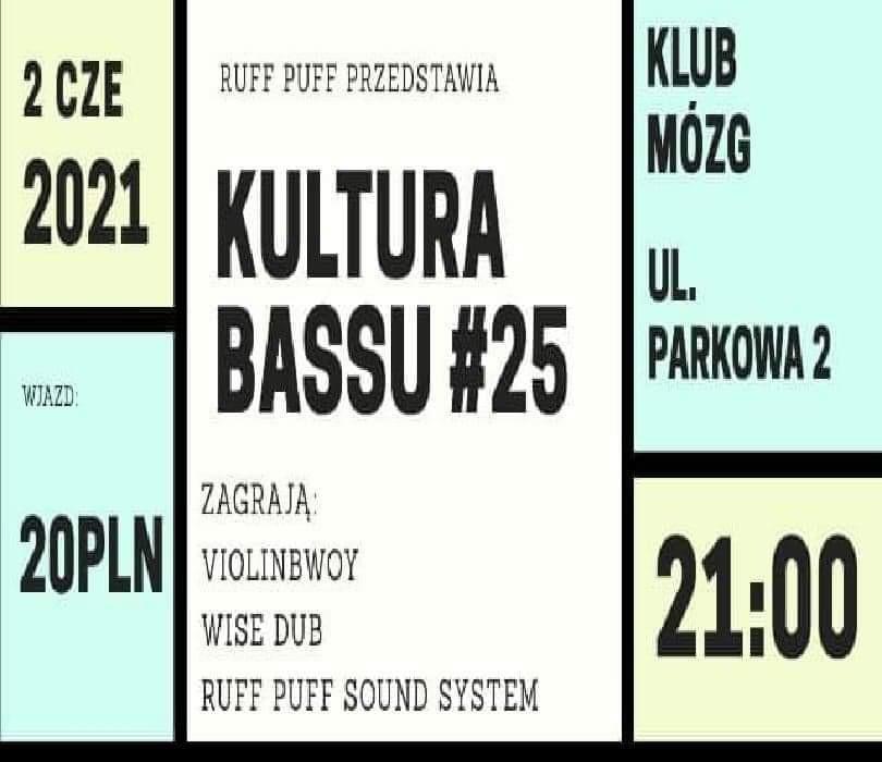 Kultura Bassu 25 # Violinbwoy #Wise Dub # Ruff Puff Sound System
