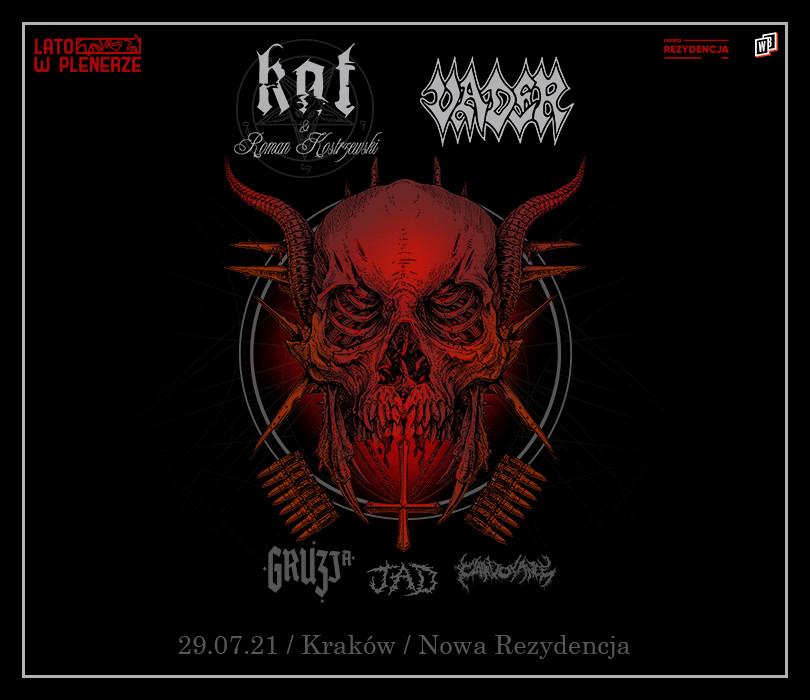 Lato w Plenerze: Vader + Kat & Roman Kostrzewski + Gruzja + JAD + Clairvoyance | Kraków [ZMIANA GODZINY]