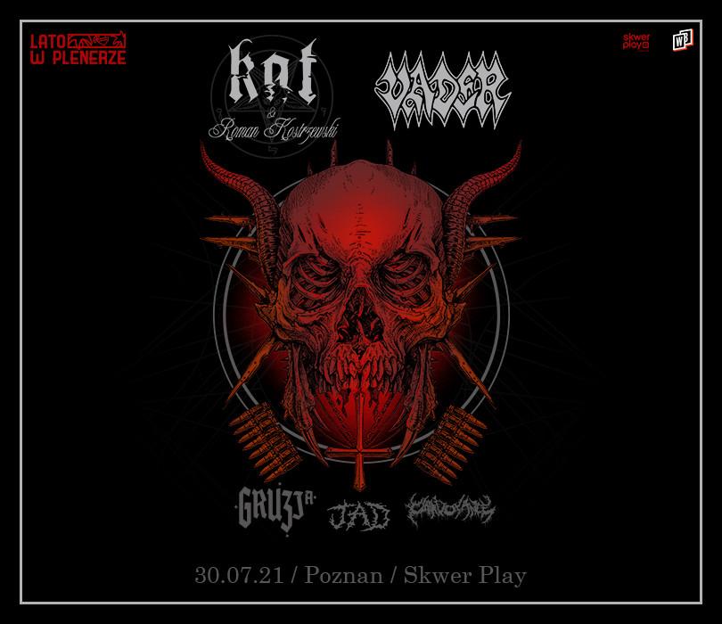 Lato w Plenerze: Vader + Kat & Roman Kostrzewski + Gruzja + JAD + Clairvoyance | Poznań [ZMIANA GODZINY]