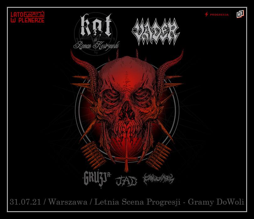 Lato w Plenerze: Vader + Kat & Roman Kostrzewski + Gruzja + JAD + Clairvoyance   Warszawa [ZMIANA GODZINY]