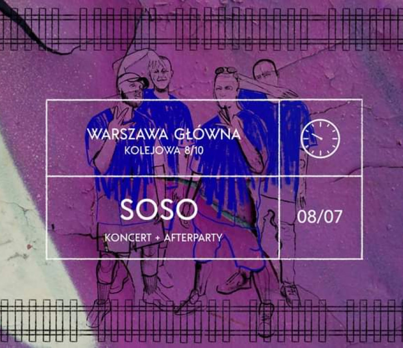 Warszawa Główna   SOSO, Vkie, White Widow, Ordine