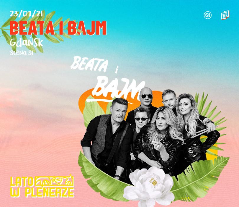 Lato w Plenerze: BEATA I BAJM | Gdańsk [ODWOŁANE]