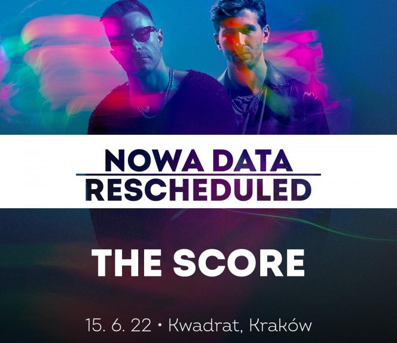 Going. | The Score | Kraków [ZMIANA DATY] - Klub Kwadrat