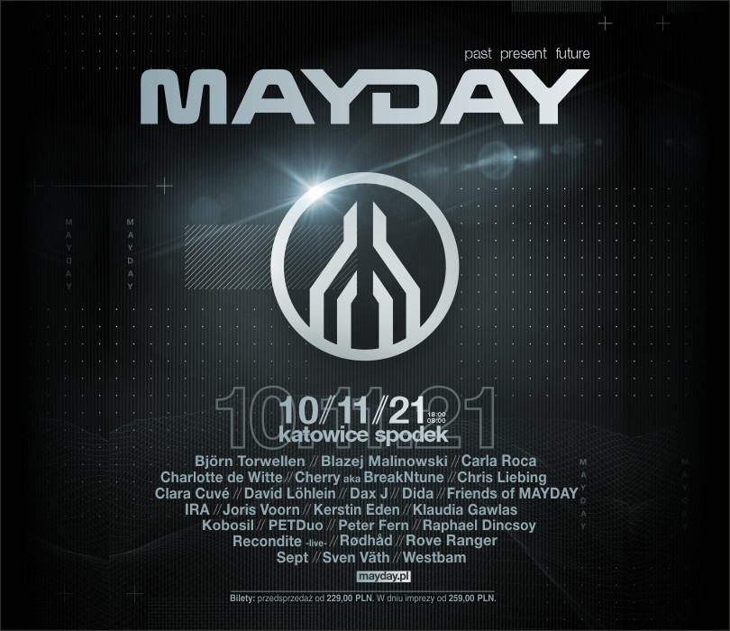 Going. | MAYDAY past present future - Spodek