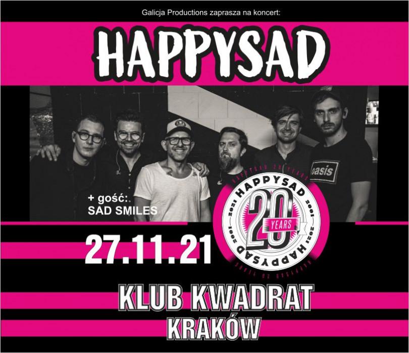 Going.   20 lat - HAPPYSAD - Klub Kwadrat