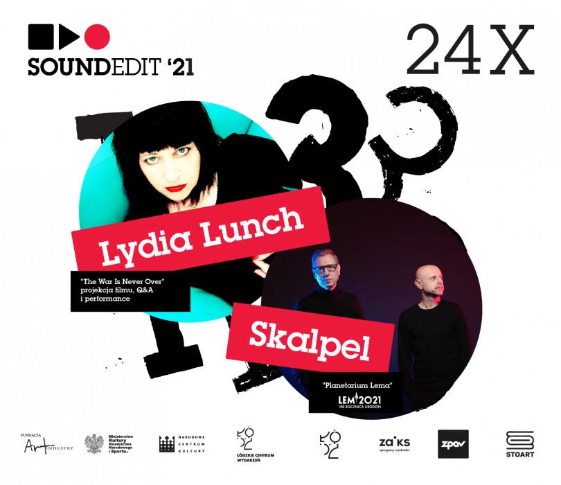 Going. | Soundedit'21 - Skalpel, Lydia Lunch - Klub Wytwórnia