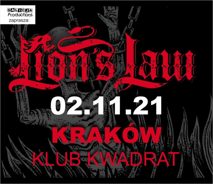 Going.   LION'S LAW - Klub Kwadrat