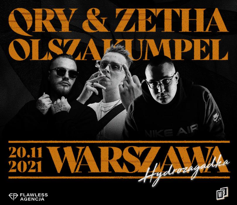 Going.   QRY + ZETHA + OLSZAKUMPEL   Warszawa - Hydrozagadka